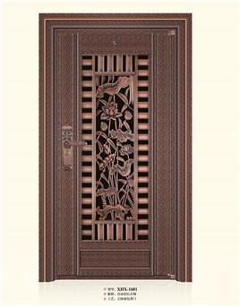 入户门-铸铝自由纹红古铜防爆门.jpg